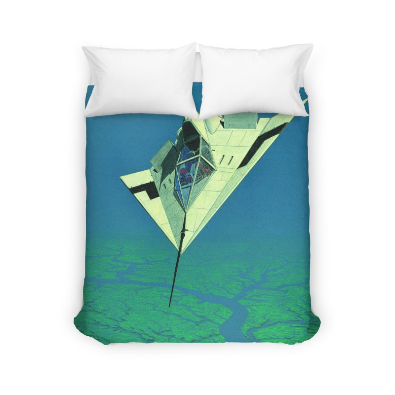 Concept Ship 5   Home Duvet by Colin Cantwell ll