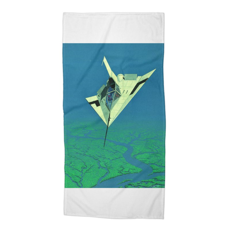 Concept Ship 5   Accessories Beach Towel by Colin Cantwell ll