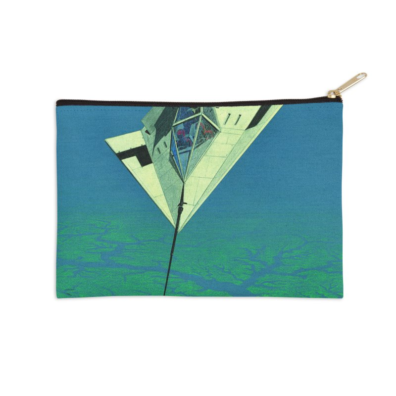 Concept Ship 5   Accessories Zip Pouch by Colin Cantwell ll