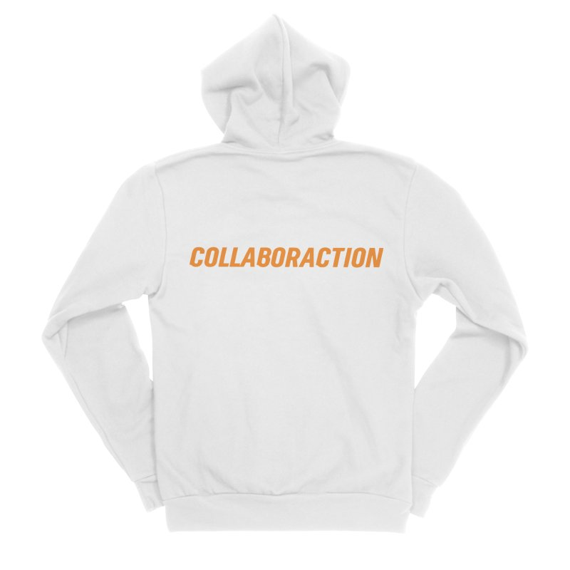 Collaboraction Logo Men's Zip-Up Hoody by collaboraction's Artist Shop