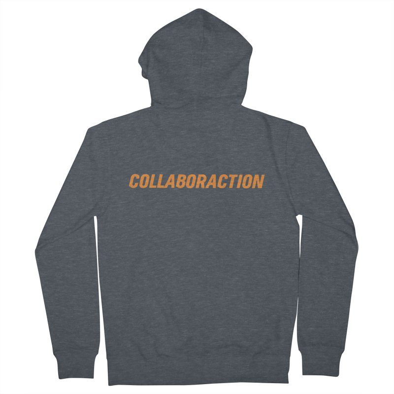 Old Collaboraction Logo Men's Zip-Up Hoody by collaboraction's Artist Shop