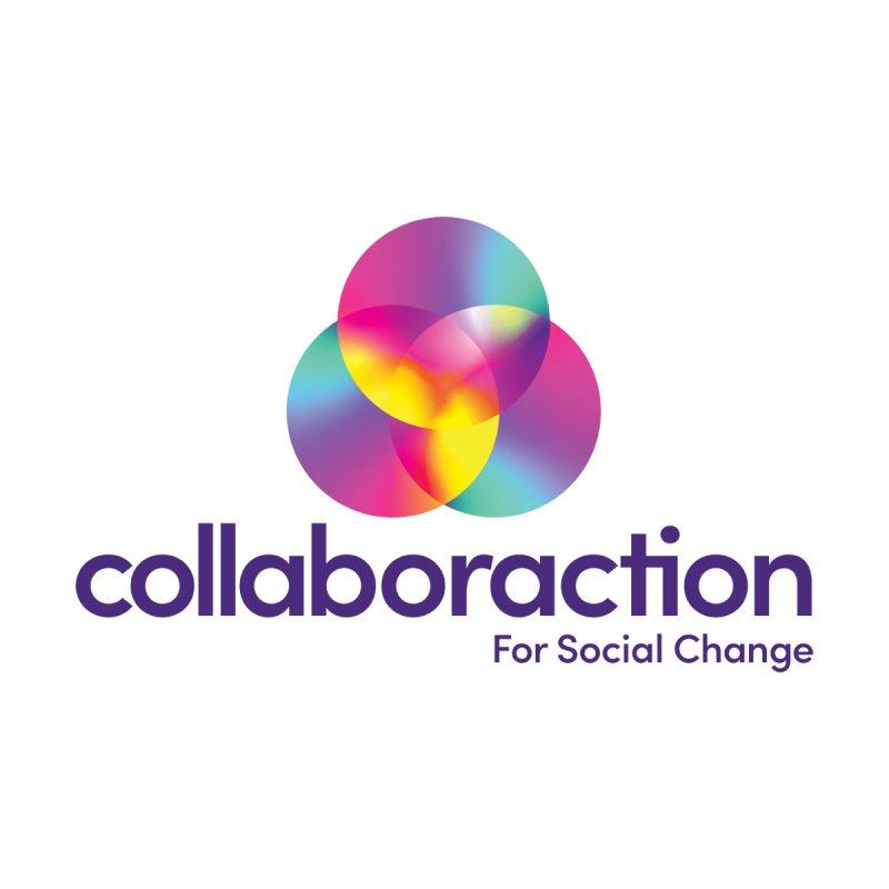 New Collaboraction Logo Accessories Neck Gaiter by collaboraction's Artist Shop
