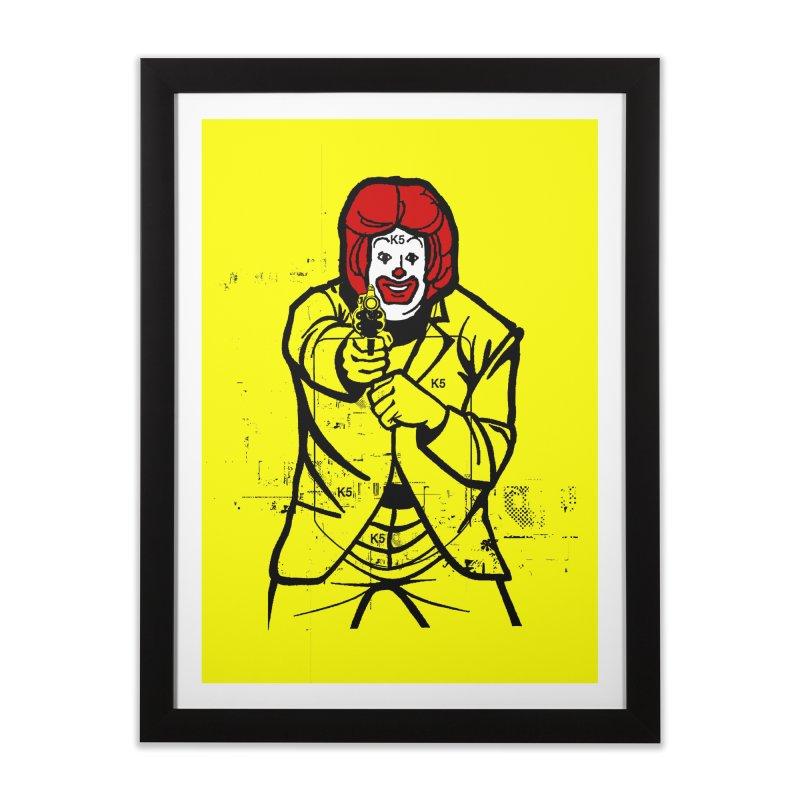 Target Home Framed Fine Art Print by Offset