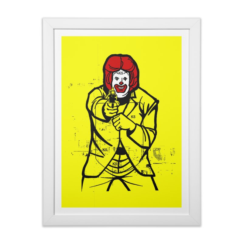 Target Home Framed Fine Art Print by Offset