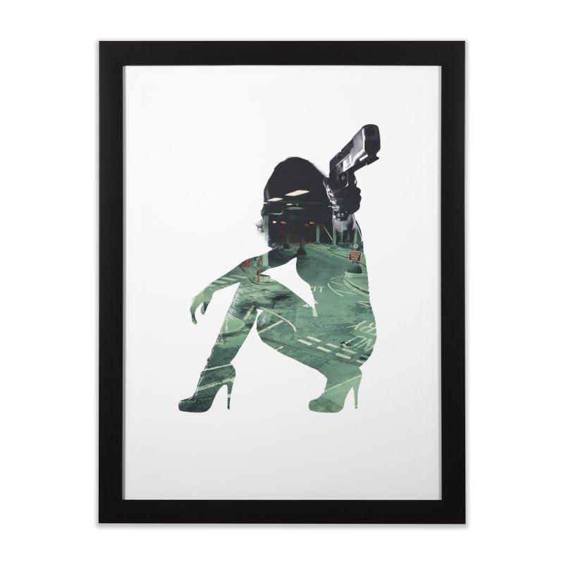 Urban Assault Home Framed Fine Art Print by Offset