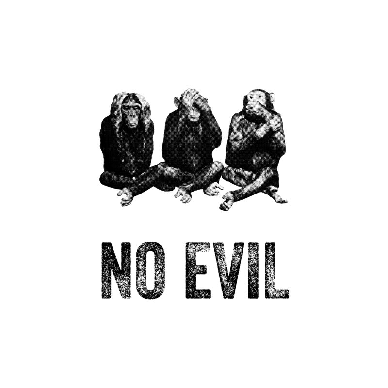 No Evil Home Framed Fine Art Print by Offset