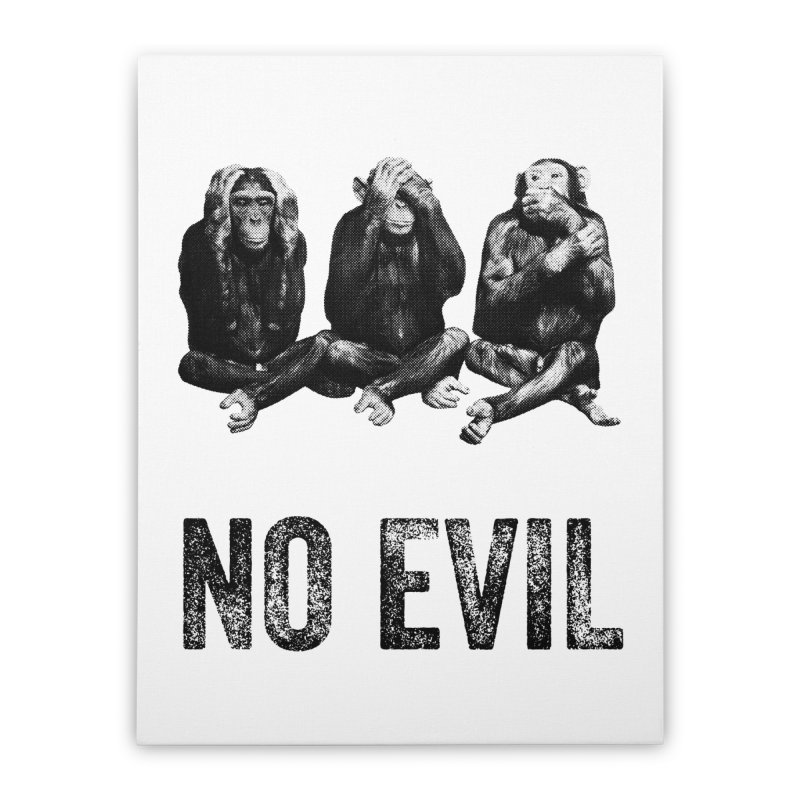 No Evil Home Stretched Canvas by Offset