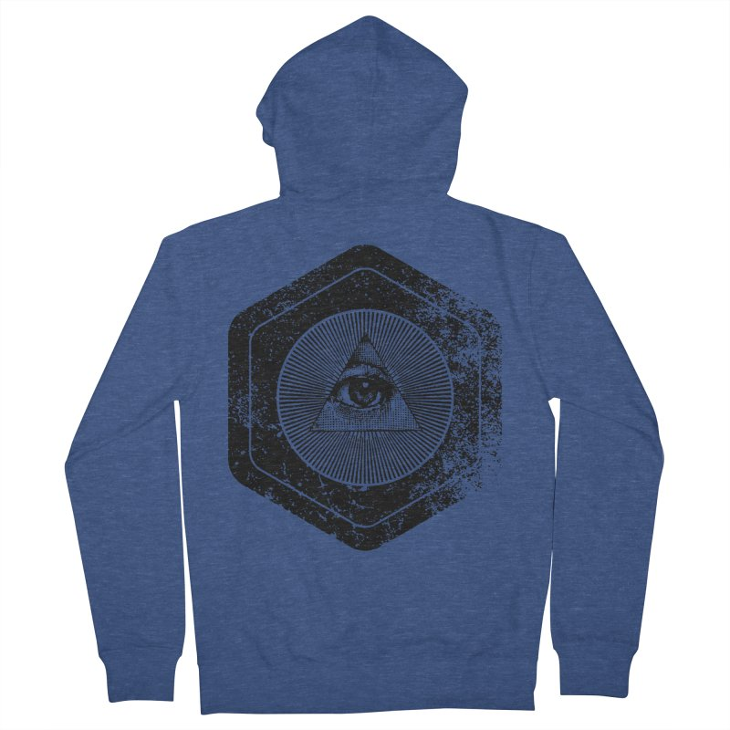 Enlightened Men's French Terry Zip-Up Hoody by Offset