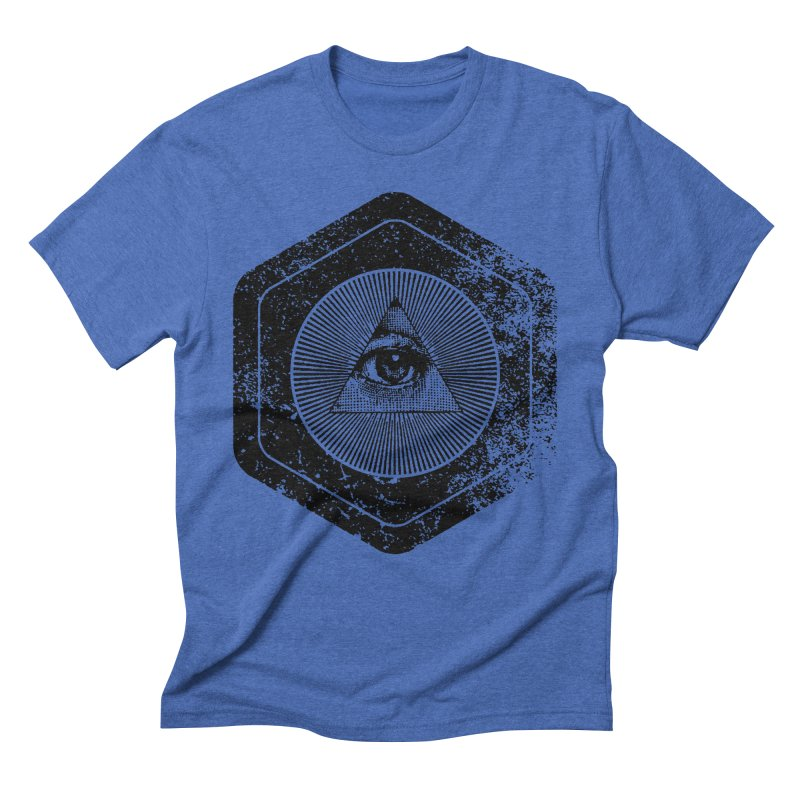 Enlightened Men's Triblend T-Shirt by Offset