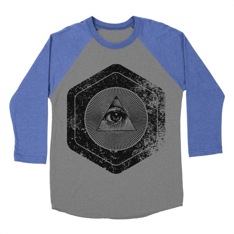 Enlightened Women's Baseball Triblend Longsleeve T-Shirt by Offset