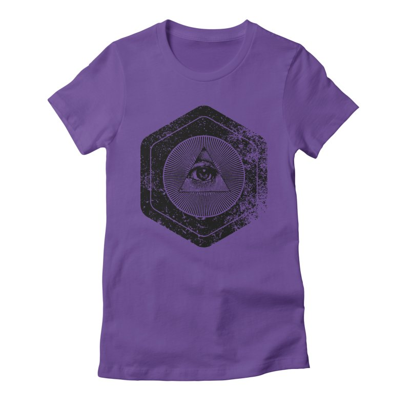 Enlightened Women's Fitted T-Shirt by Offset
