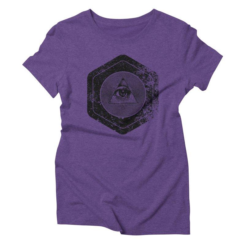 Enlightened Women's Triblend T-Shirt by Offset
