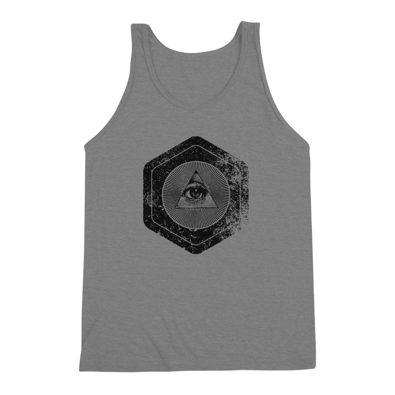 Enlightened Men's Triblend Tank by Offset
