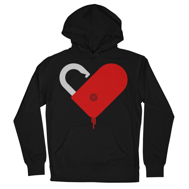 Open Heart Men's Pullover Hoody by Offset