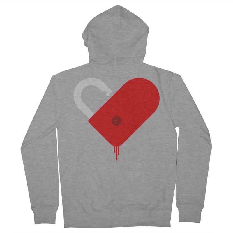 Open Heart Men's Zip-Up Hoody by Offset