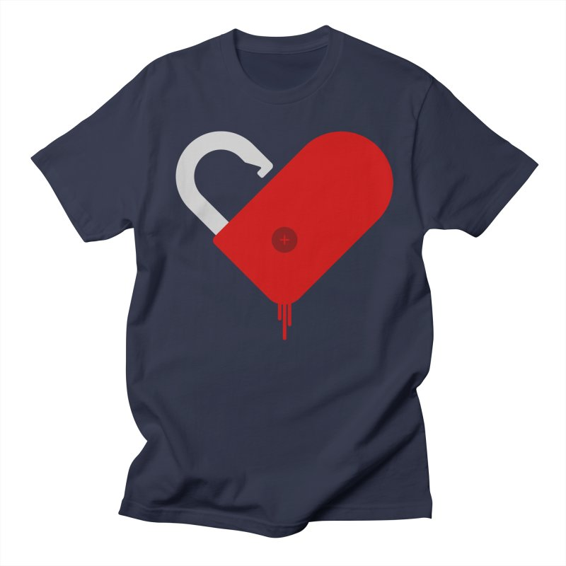 Open Heart Men's T-Shirt by Offset