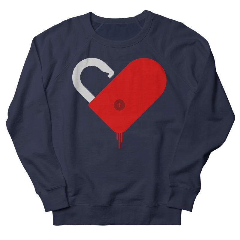 Open Heart Men's Sweatshirt by Offset