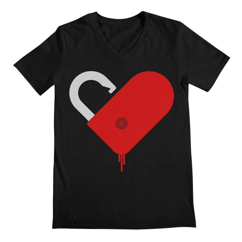 Open Heart Men's V-Neck by Offset