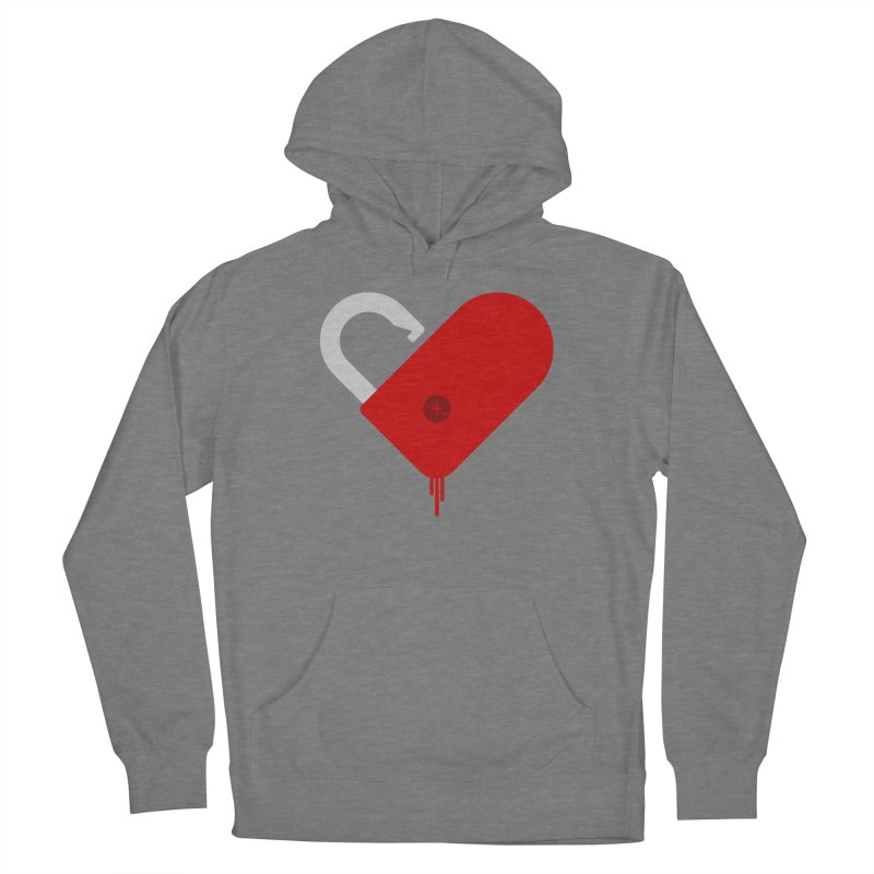 Open Heart Men's Pullover Hoody by Offset