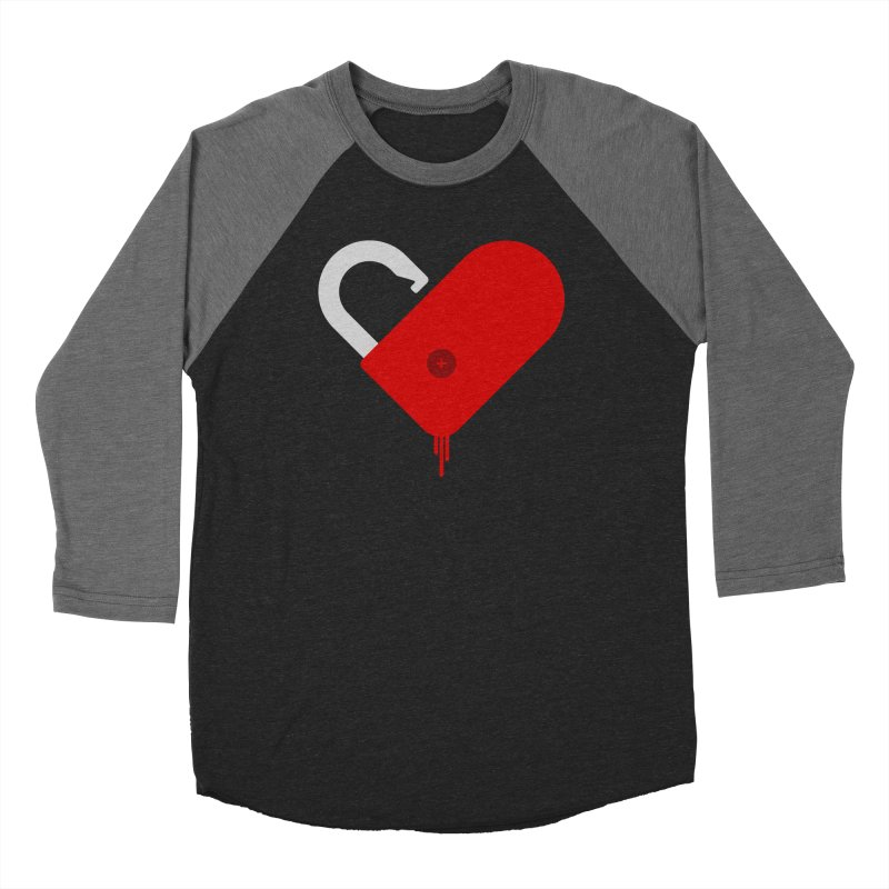 Open Heart Women's Longsleeve T-Shirt by Offset