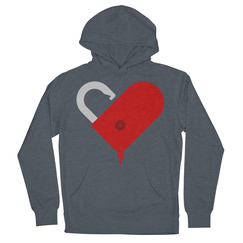 Open Heart Women's French Terry Pullover Hoody by Offset