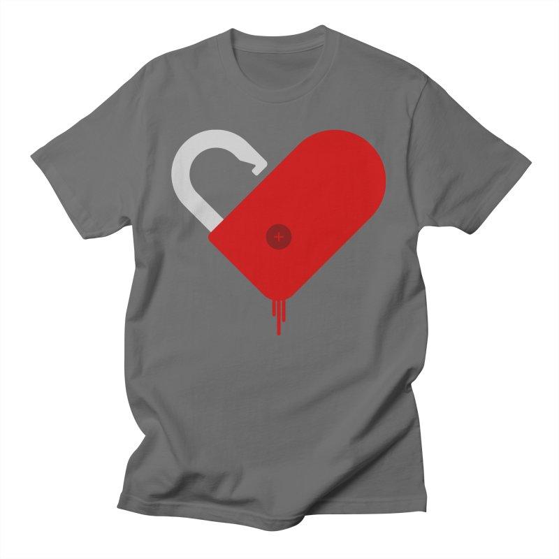 Open Heart Men's T-Shirt by Offset
