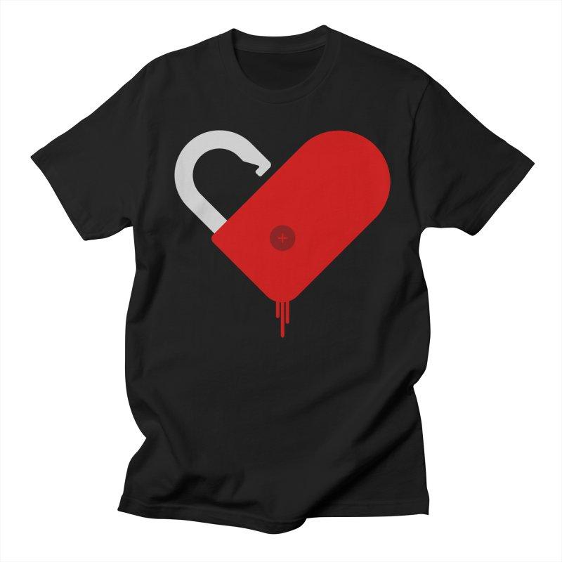 Open Heart Men's Regular T-Shirt by Offset