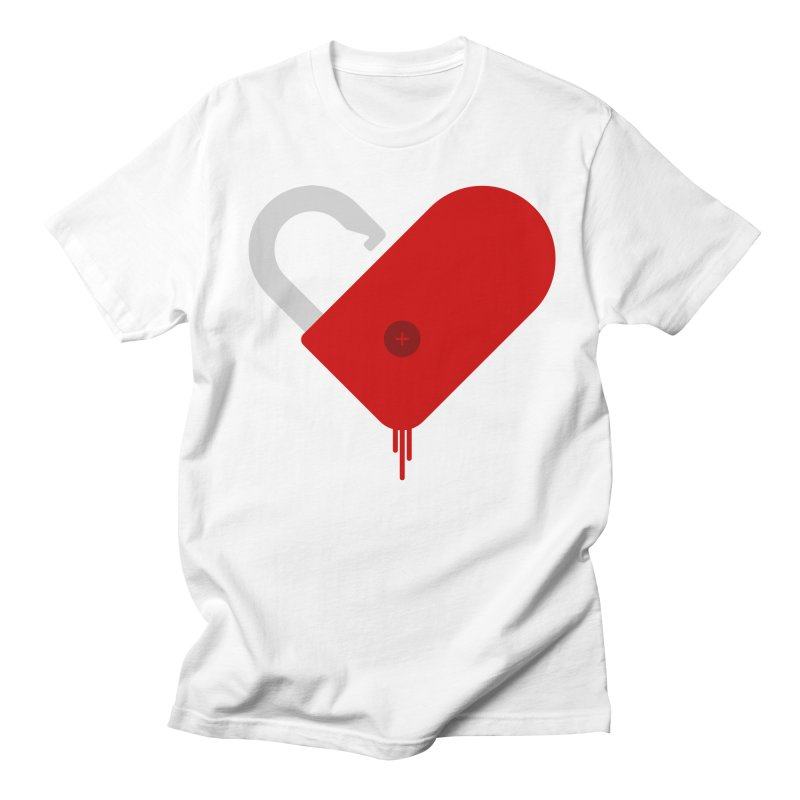 Open Heart Men's Regular T-Shirt by Offset