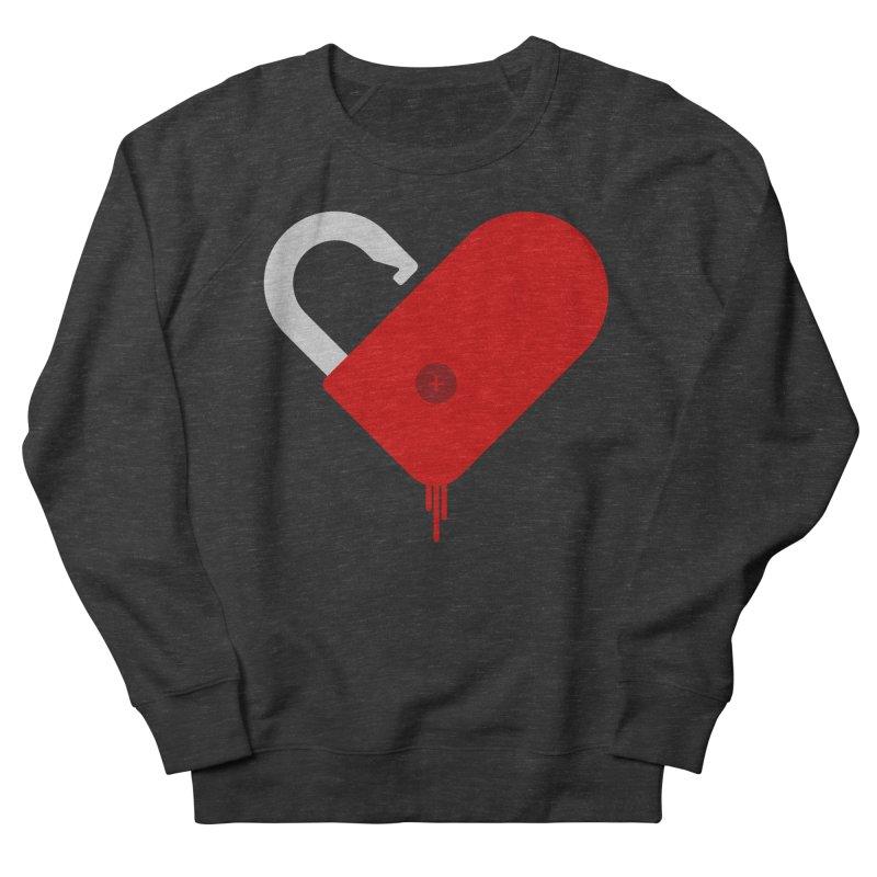 Open Heart Women's French Terry Sweatshirt by Offset