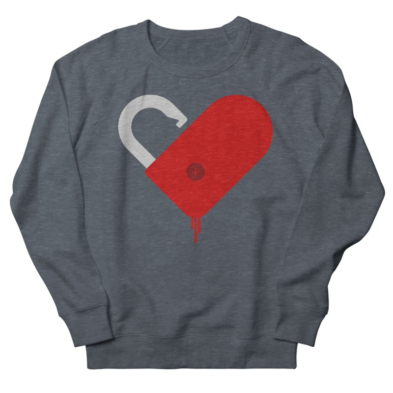 Open Heart Women's French Terry Sweatshirt by Offset