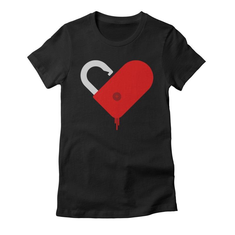 Open Heart Women's T-Shirt by Offset