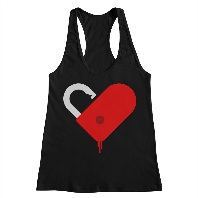 Open Heart Women's Tank by Offset