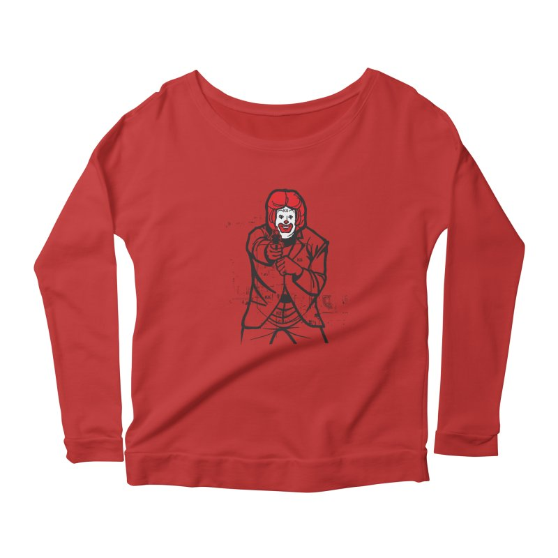 Target Women's Scoop Neck Longsleeve T-Shirt by Offset