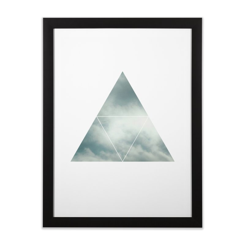 Trispheric Home Framed Fine Art Print by Offset