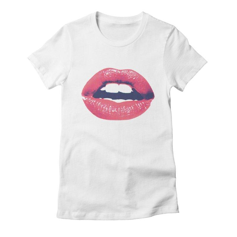 Hot Lips Women's T-Shirt by Offset