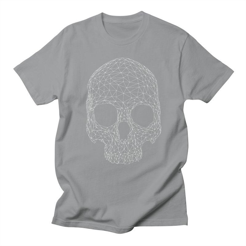 Polygon Skull Men's Regular T-Shirt by Offset