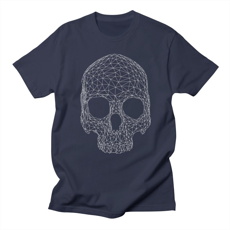Polygon Skull Men's Regular T-Shirt by Offset
