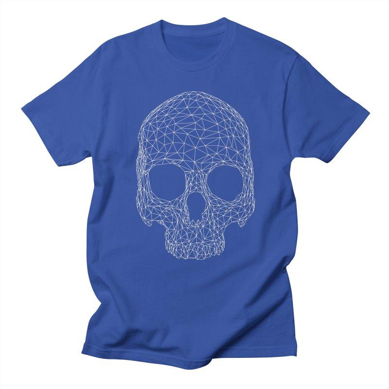 Polygon Skull Men's T-Shirt by Offset