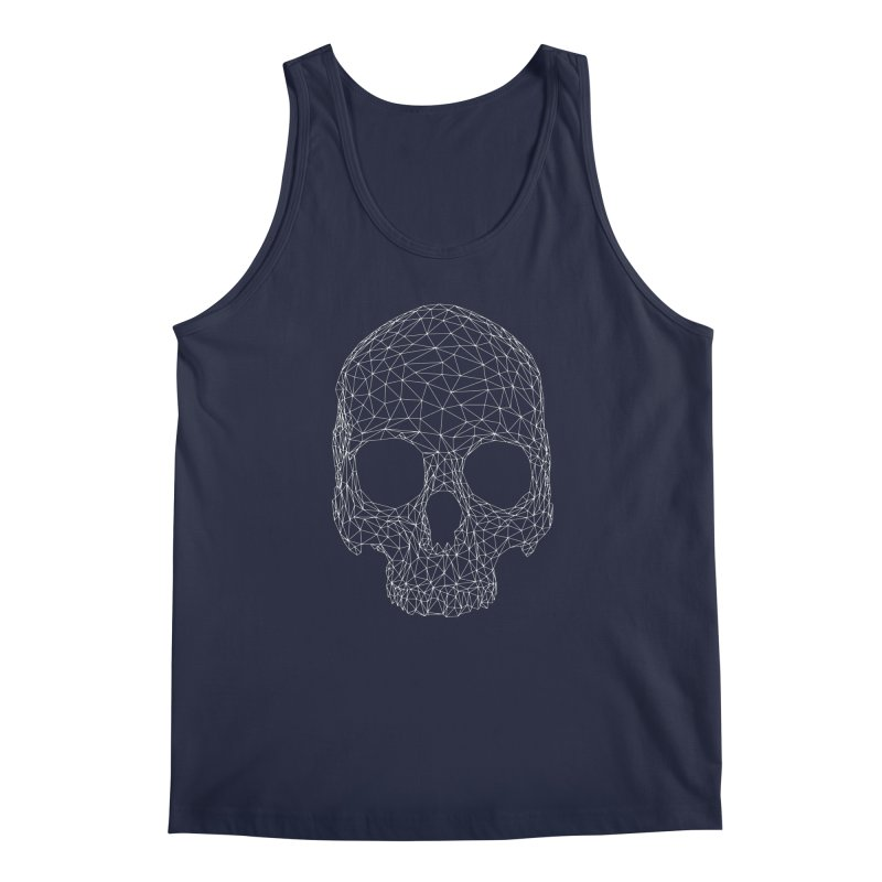 Polygon Skull Men's Tank by Offset