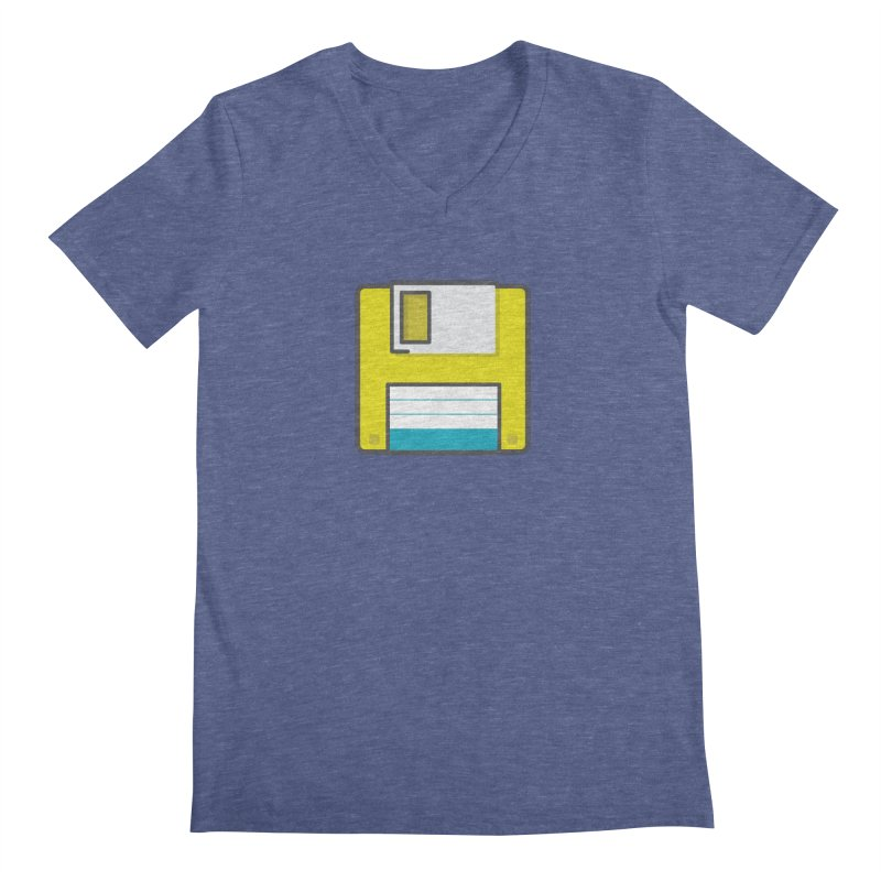 Floppy Men's V-Neck by colleensweeney's Artist Shop