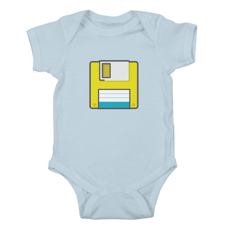 Floppy Kids Baby Bodysuit by colleensweeney's Artist Shop