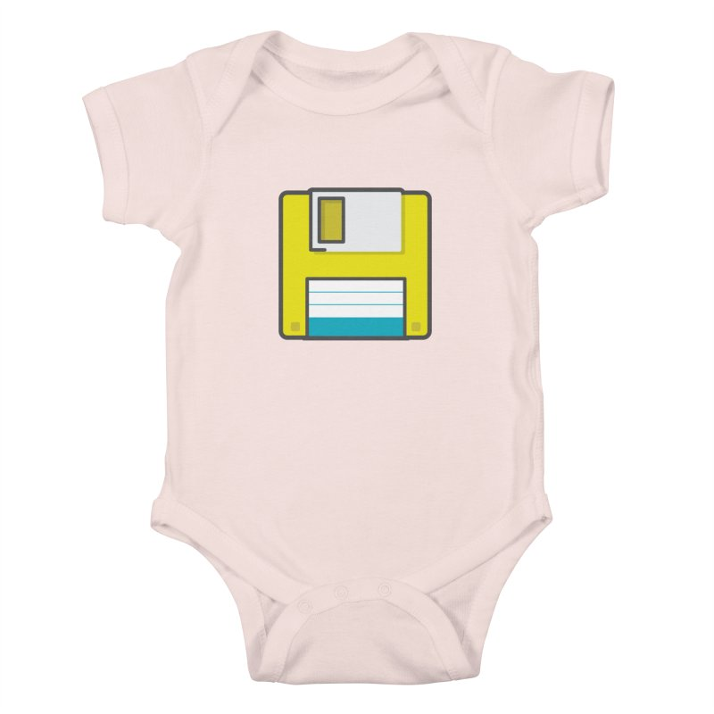 Floppy Kids Baby Bodysuit by colleensweeney's Artist Shop