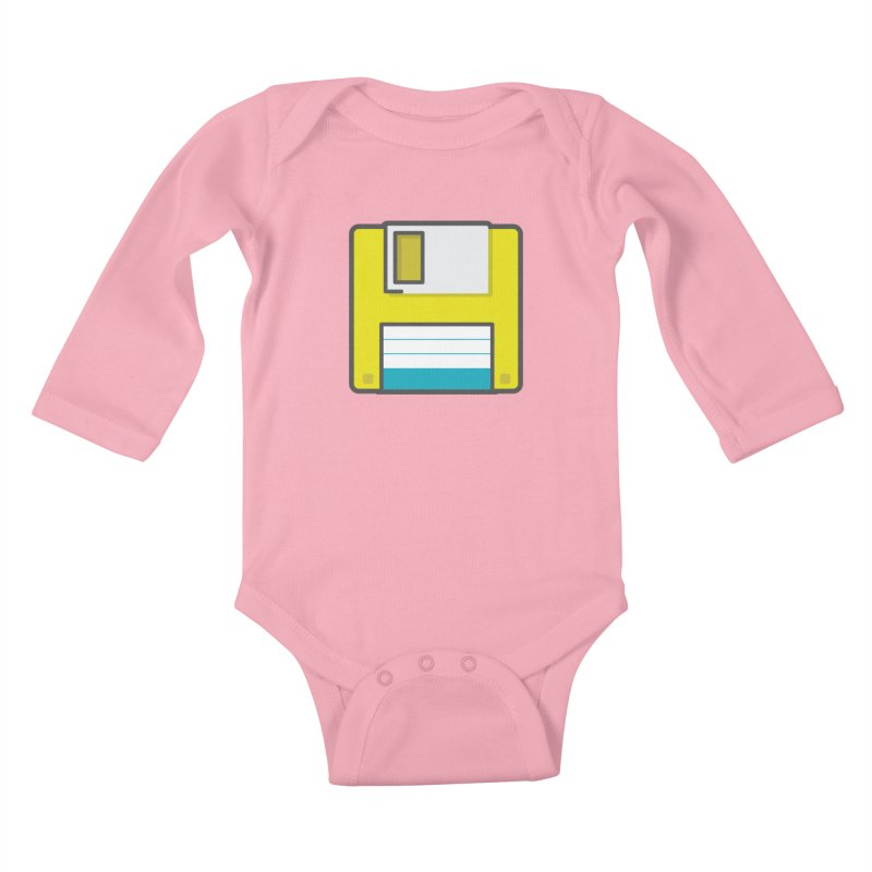 Floppy Kids Baby Longsleeve Bodysuit by colleensweeney's Artist Shop