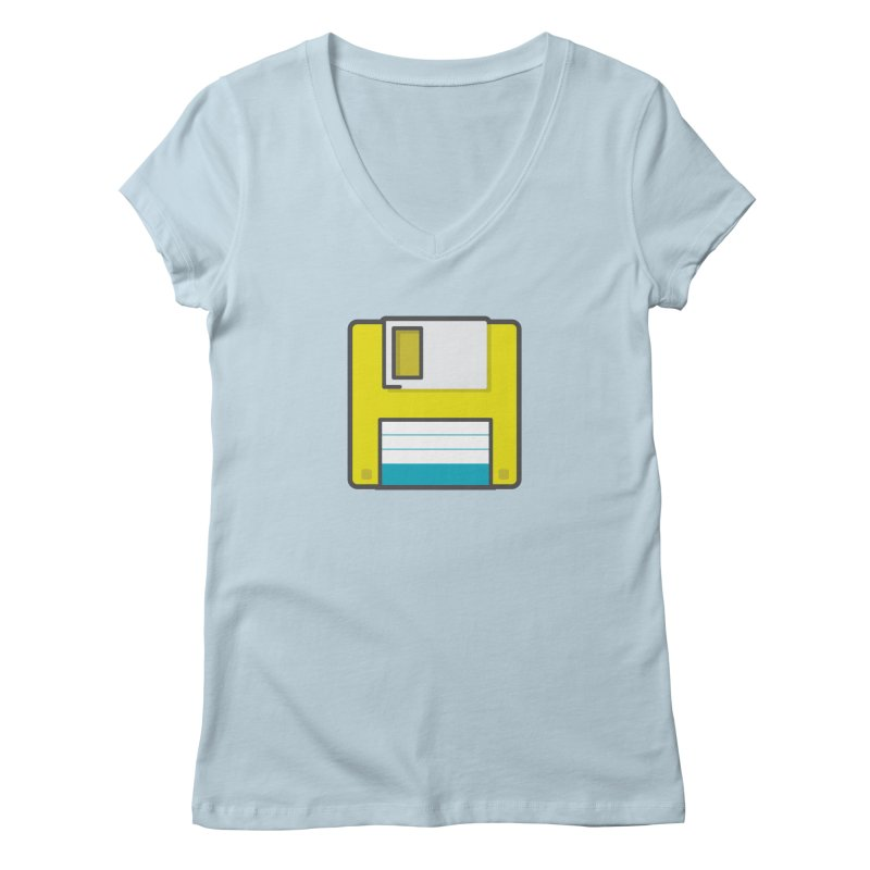 Floppy Women's V-Neck by colleensweeney's Artist Shop