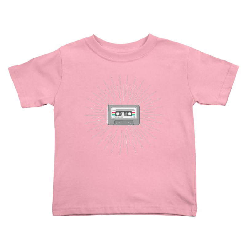 I made you a mix Tape Kids Toddler T-Shirt by colleensweeney's Artist Shop