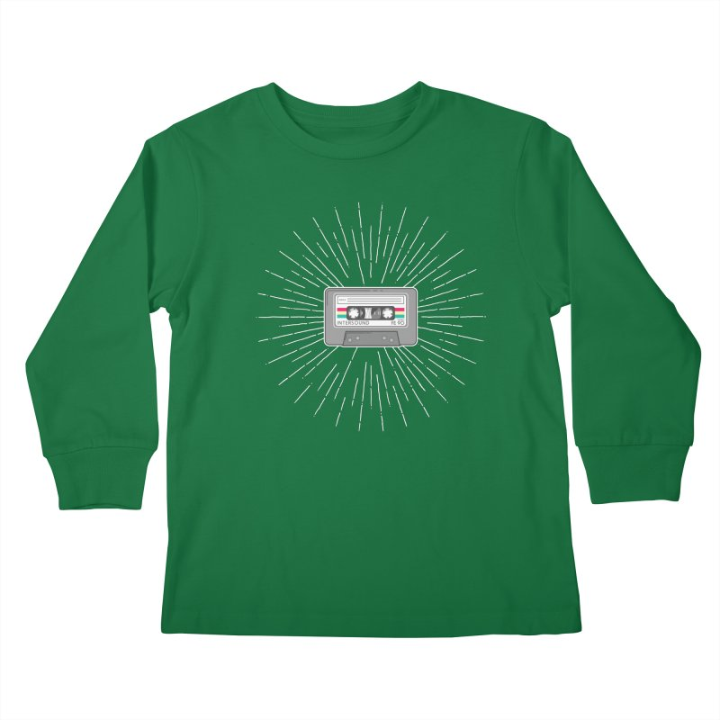 I made you a mix Tape Kids Longsleeve T-Shirt by colleensweeney's Artist Shop