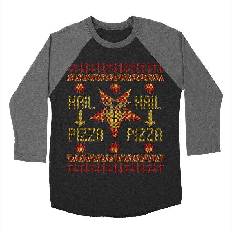 HAIL PIZZA: HOLADAz Women's Baseball Triblend T-Shirt by Robotboot Artist Shop