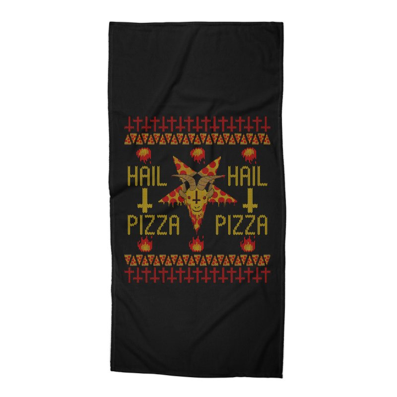 HAIL PIZZA: HOLADAz Accessories Beach Towel by Robotboot Artist Shop