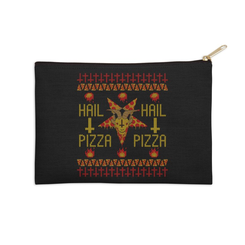 HAIL PIZZA: HOLADAz Accessories Zip Pouch by Robotboot Artist Shop