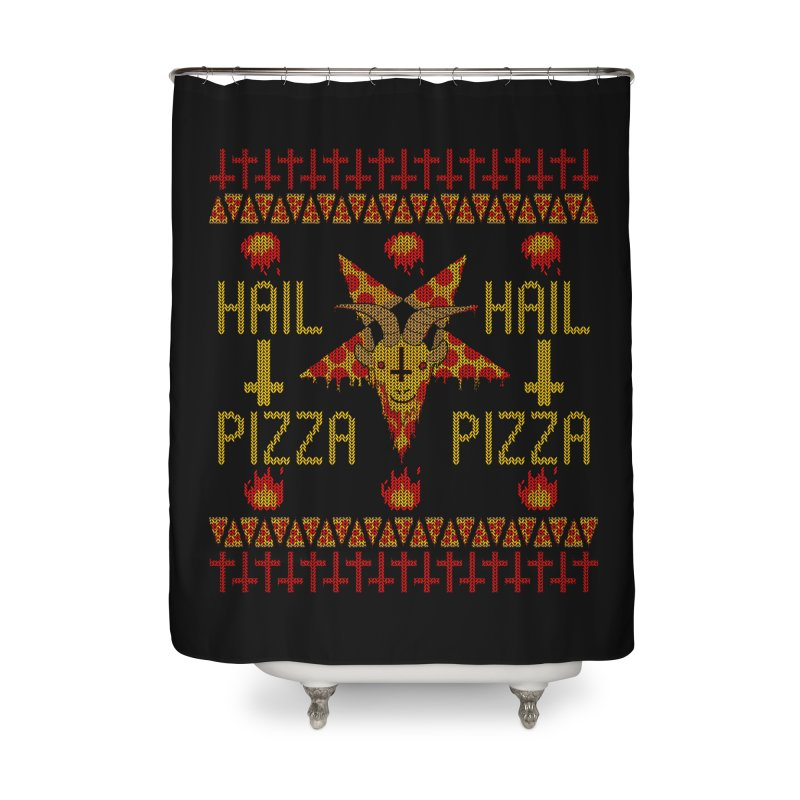 HAIL PIZZA: HOLADAz Home Shower Curtain by Robotboot Artist Shop